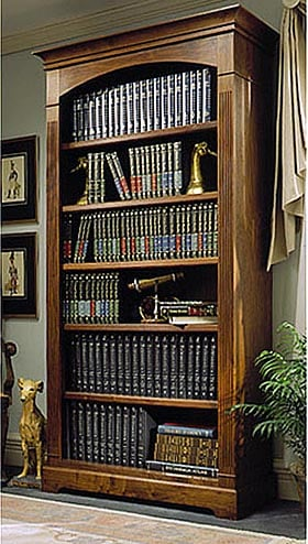 Towering Tomes Bookcase Woodworking Plan