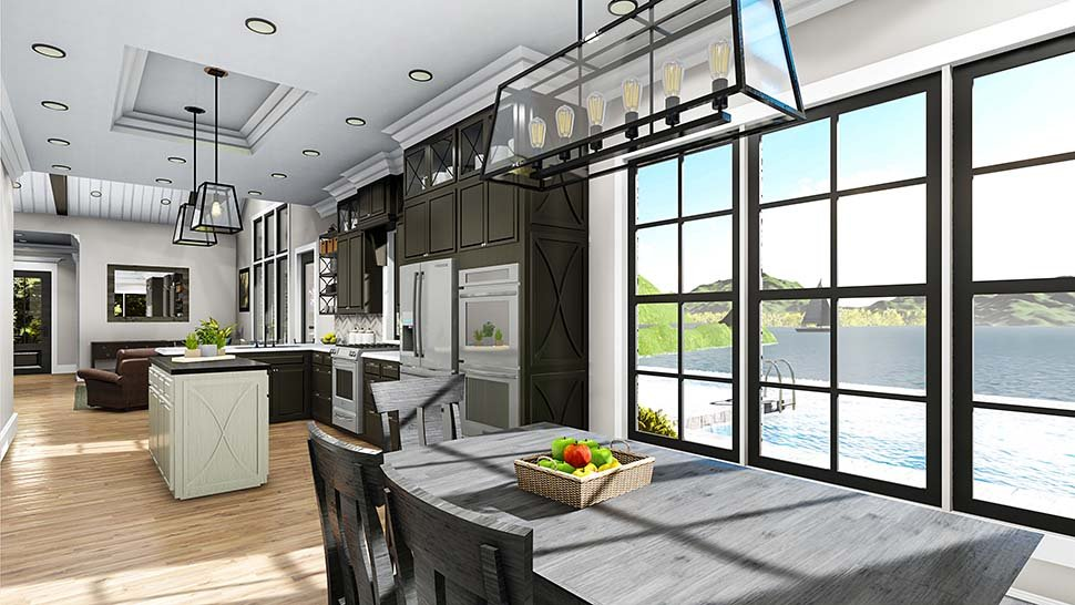 Cape Cod, Coastal, Cottage, Country, Southern, Traditional House Plan 40040 with 3 Beds, 2 Baths, 2 Car Garage Picture 10