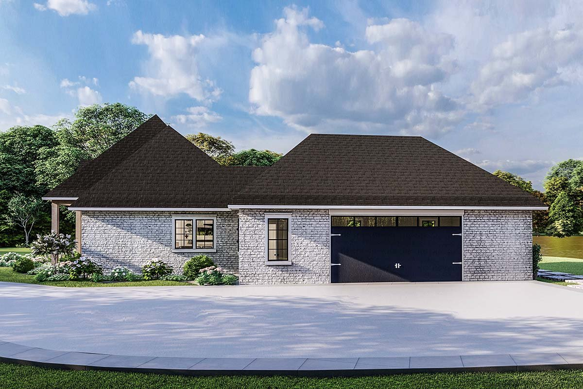Country, Craftsman, European, Farmhouse, Southern, Traditional House Plan 40049 with 4 Beds, 3 Baths, 2 Car Garage Picture 1