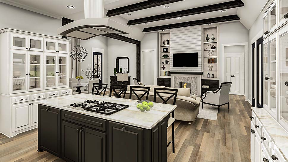 Country, Craftsman, European, Farmhouse, Southern, Traditional House Plan 40049 with 4 Beds, 3 Baths, 2 Car Garage Picture 11