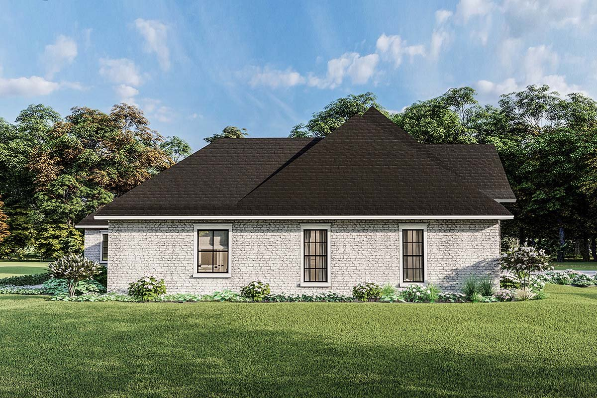 Country, Craftsman, European, Farmhouse, Southern, Traditional House Plan 40049 with 4 Beds, 3 Baths, 2 Car Garage Picture 2