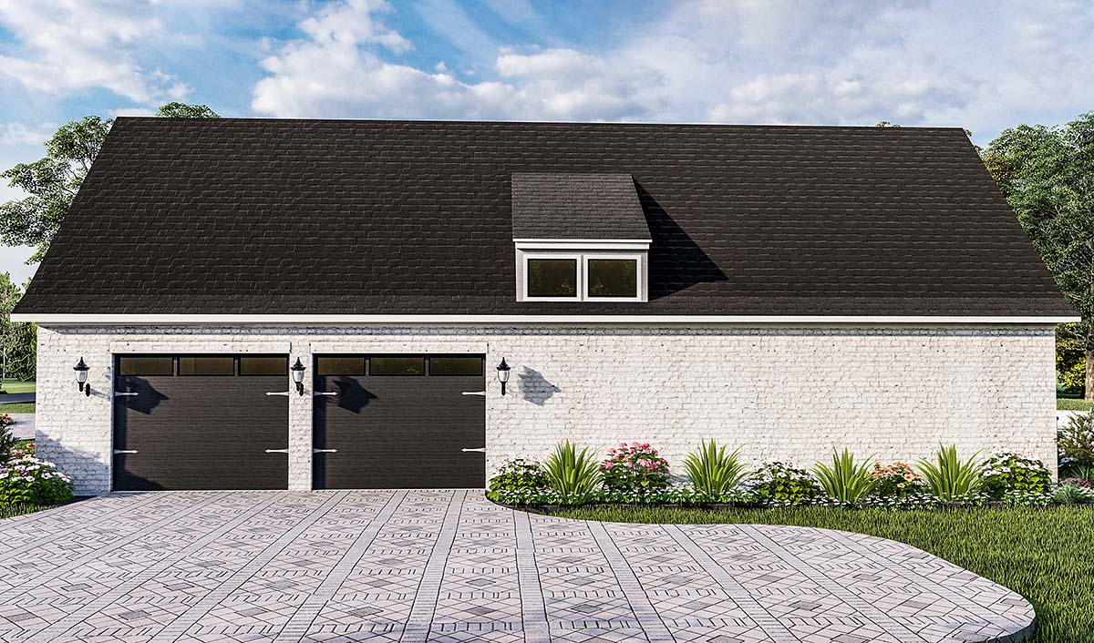 Country, Farmhouse, French Country, Southern, Traditional House Plan 40051 with 4 Beds, 3 Baths, 2 Car Garage Picture 1