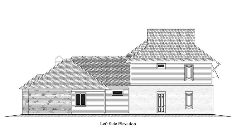 European, French Country, Southern House Plan 40314 with 4 Beds, 4 Baths, 2 Car Garage Picture 1