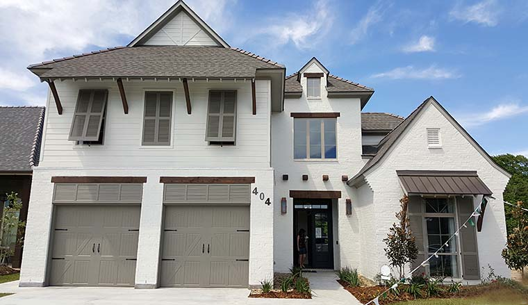 European, French Country, Southern House Plan 40314 with 4 Beds, 4 Baths, 2 Car Garage Picture 4