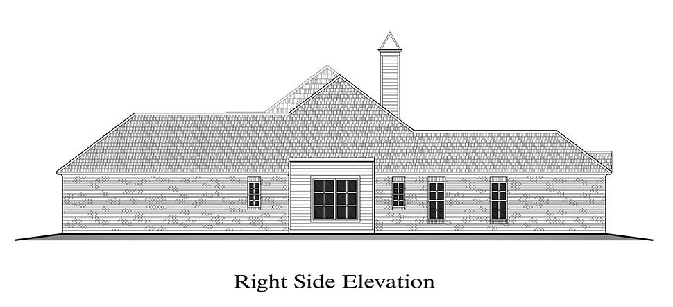 European, French Country House Plan 40326 with 4 Beds, 2 Baths, 2 Car Garage Picture 1