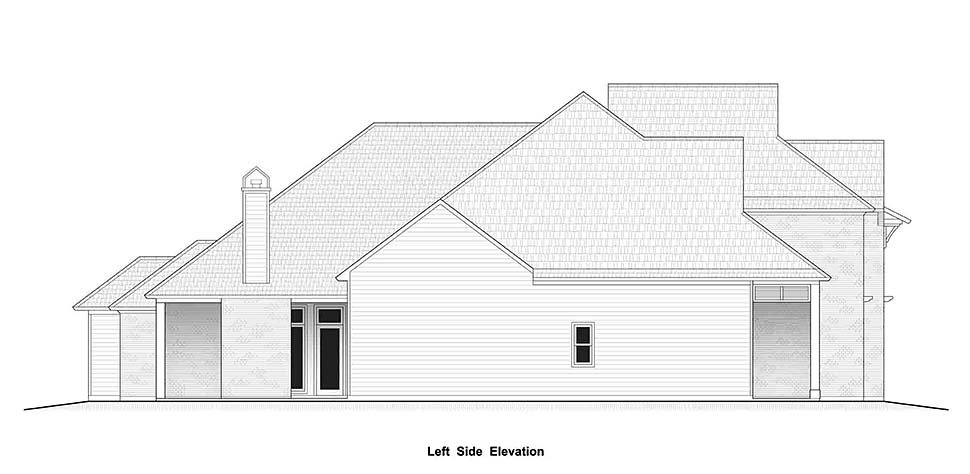 Country, European, French Country House Plan 40337 with 4 Beds, 4 Baths, 2 Car Garage Picture 9