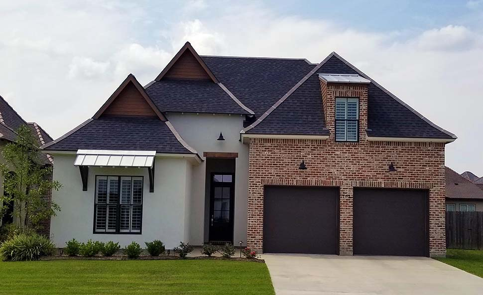 Contemporary, French Country, Southern House Plan 40342 with 4 Beds, 3 Baths, 2 Car Garage Picture 1