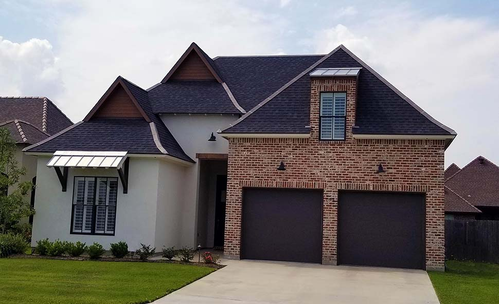 Contemporary, French Country, Southern House Plan 40342 with 4 Beds, 3 Baths, 2 Car Garage Picture 2