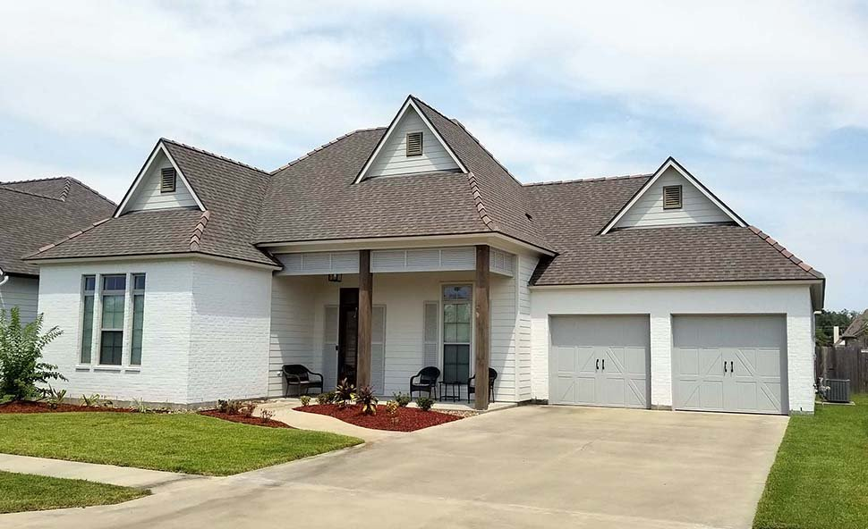Contemporary, French Country, Southern House Plan 40343 with 4 Beds, 4 Baths, 2 Car Garage Picture 1