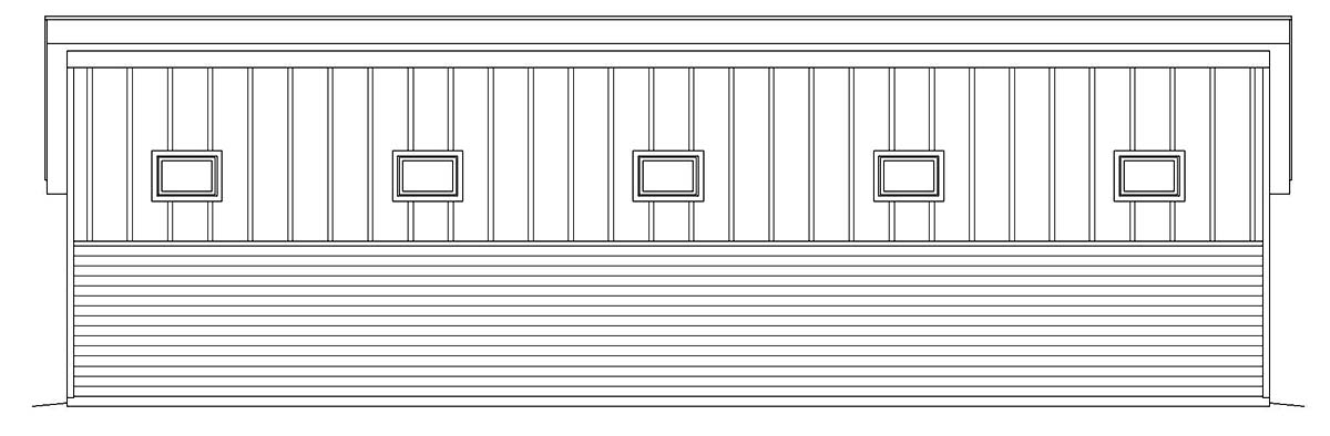 Contemporary, Modern 2 Car Garage Plan 40807, RV Storage Picture 2