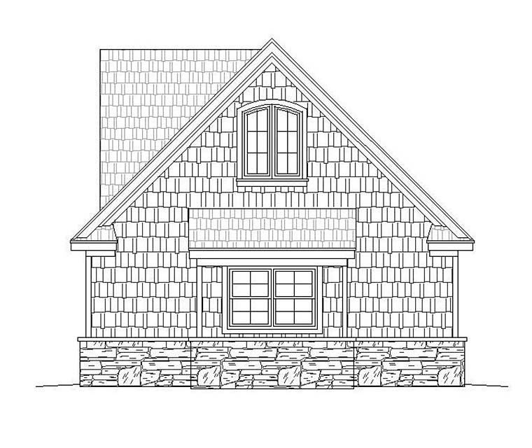 Country, Craftsman, Farmhouse, Traditional House Plan 40861 with 4 Beds, 3 Baths, 3 Car Garage Picture 5