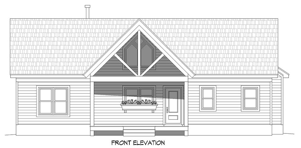 Ranch, Traditional House Plan 40891 with 3 Beds, 2 Baths Picture 3