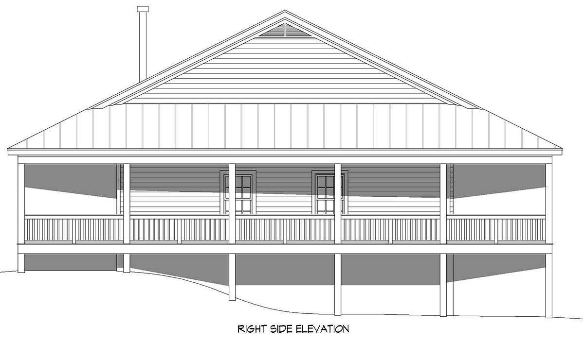 Country, Farmhouse, Ranch, Traditional House Plan 40892 with 4 Beds, 3 Baths, 3 Car Garage Picture 1