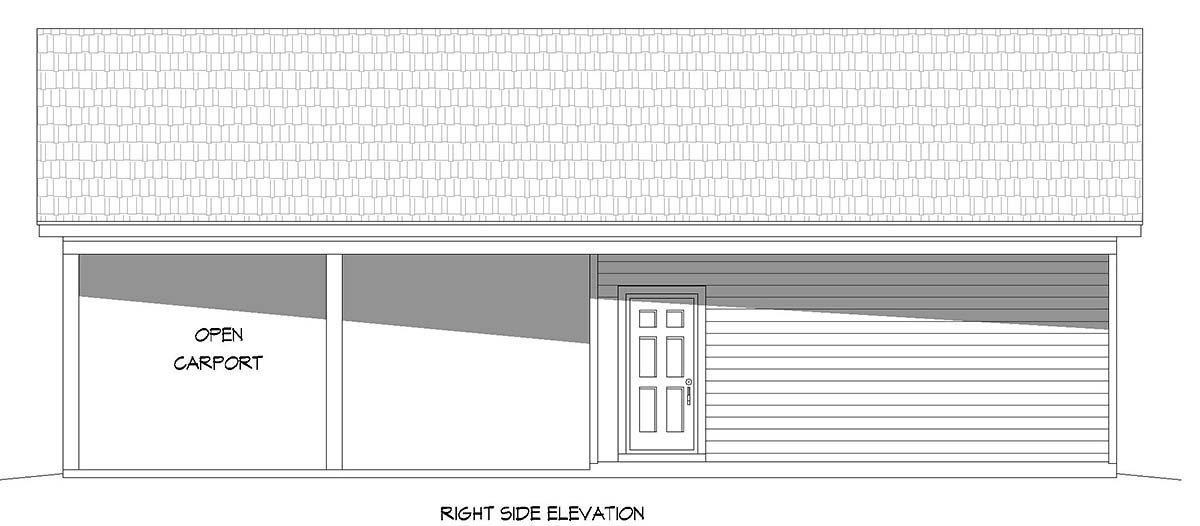 Country, Ranch, Traditional 3 Car Garage Plan 40895 Picture 1