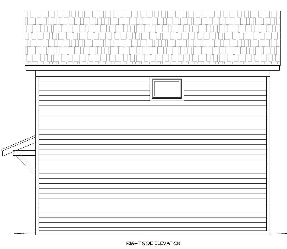 Country, Traditional 2 Car Garage Apartment Plan 40899 with 2 Beds, 1 Baths Picture 1