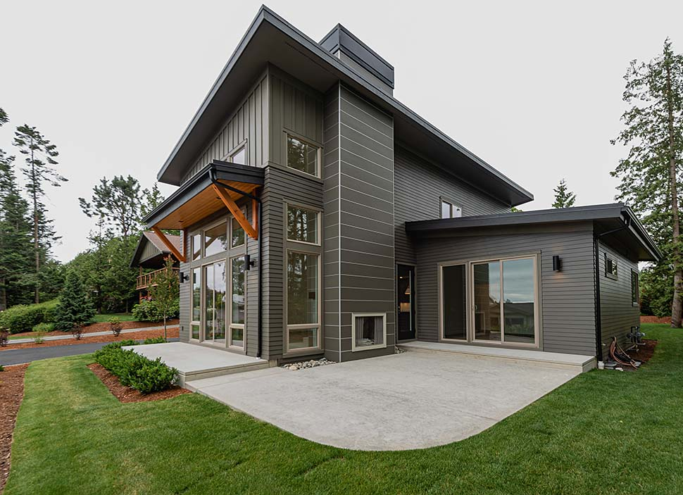 Contemporary House Plan 40910 with 3 Beds, 3 Baths, 2 Car Garage Picture 13