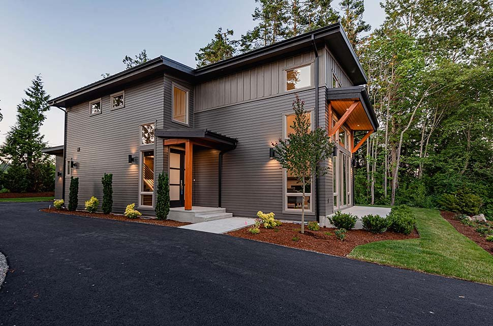 Contemporary House Plan 40910 with 3 Beds, 3 Baths, 2 Car Garage Picture 14