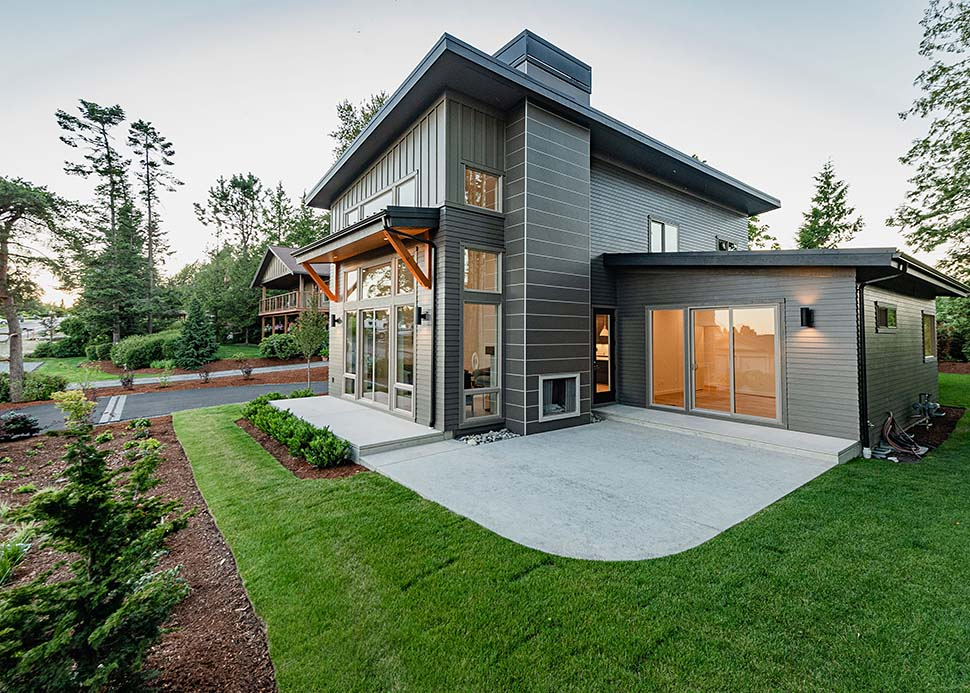 Contemporary House Plan 40910 with 3 Beds, 3 Baths, 2 Car Garage Picture 15