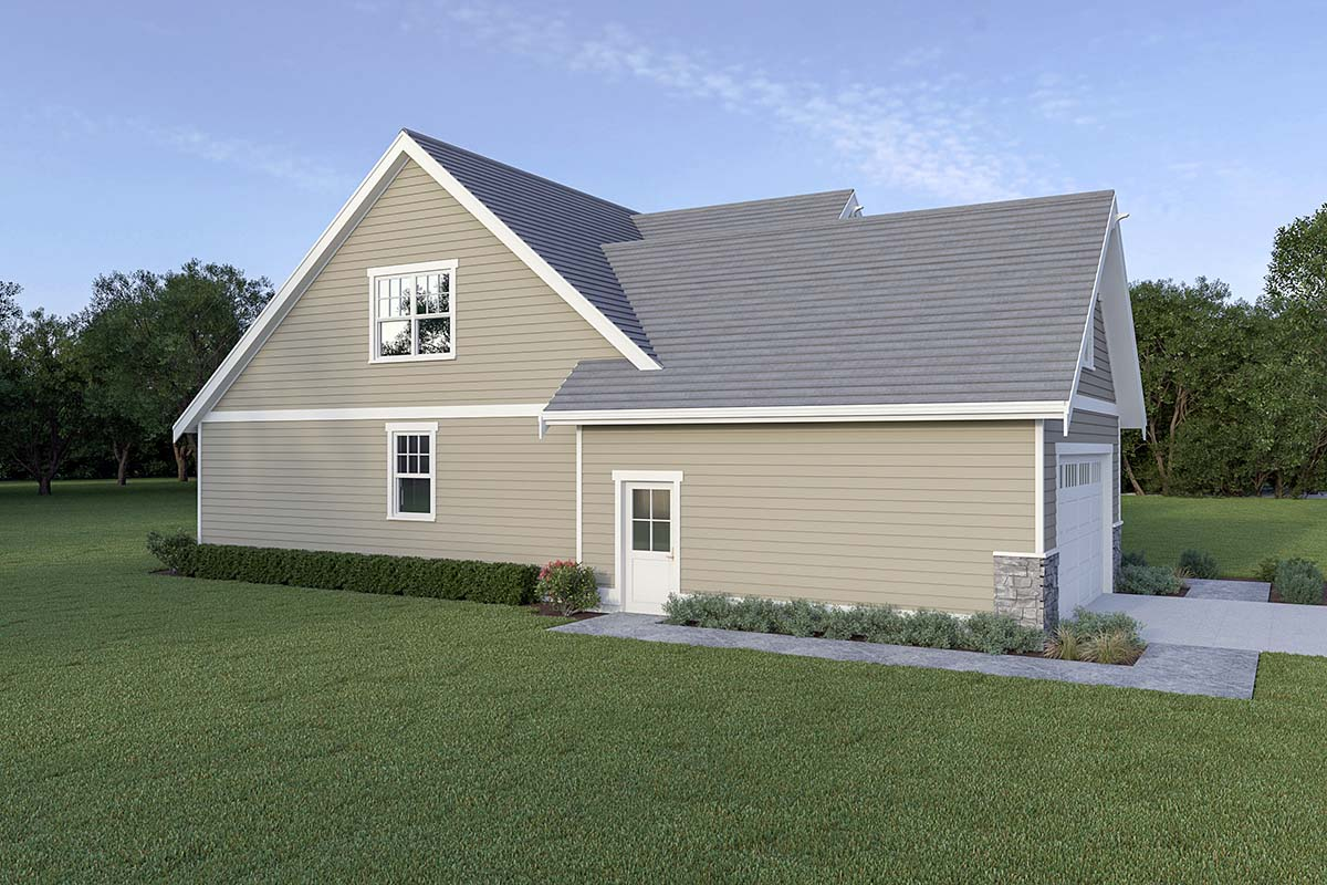 Country, Craftsman House Plan 40914 with 3 Beds, 3 Baths, 2 Car Garage Picture 2