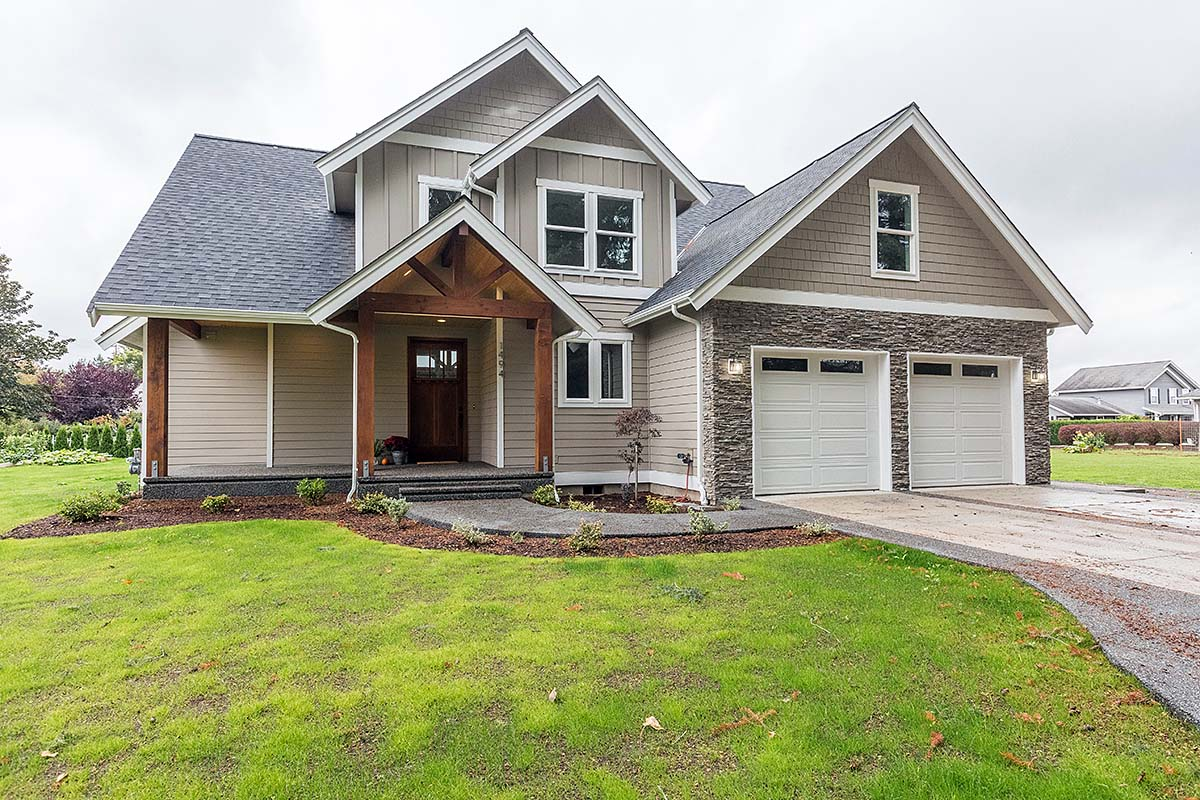 Country, Craftsman, Traditional House Plan 40917 with 4 Beds, 3 Baths, 2 Car Garage Elevation