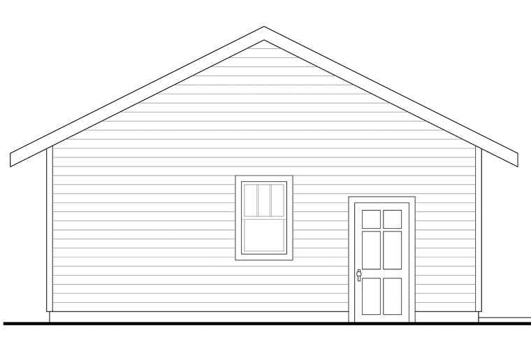Country 2 Car Garage Plan 41151 Picture 1