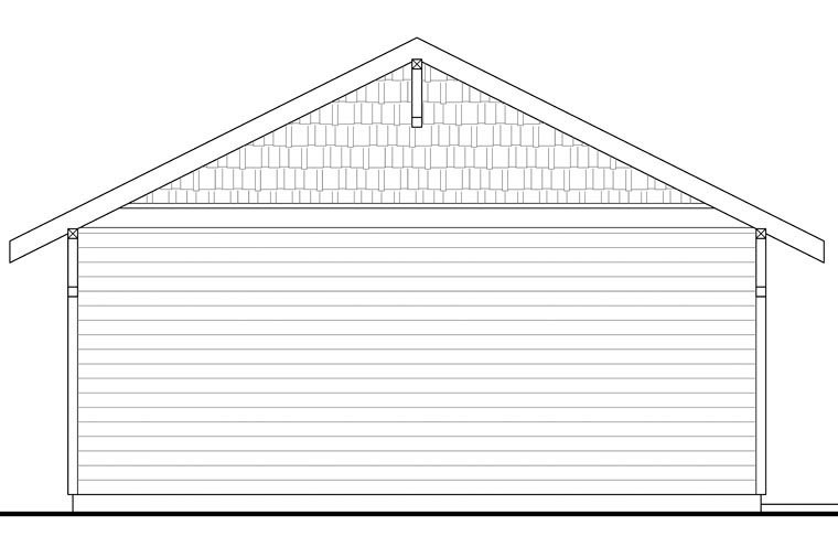 Country 2 Car Garage Plan 41151 Picture 2