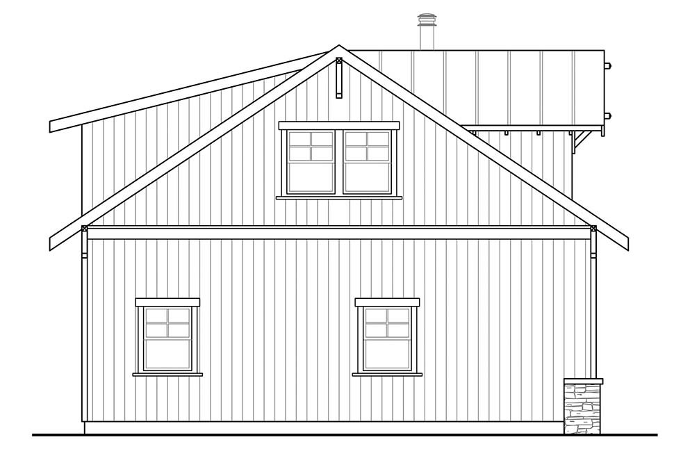 Country 2 Car Garage Plan 41330 Picture 2