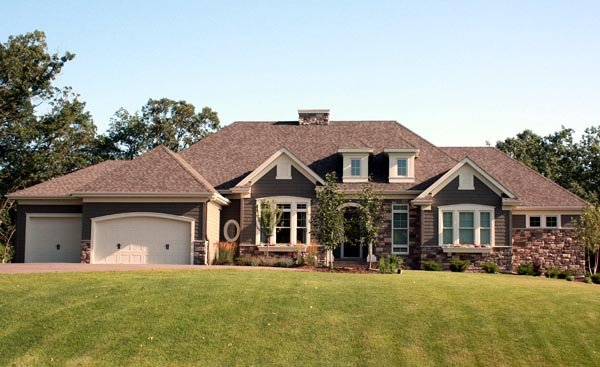 House Plan 42648 with 4 Beds, 5 Baths, 4 Car Garage Picture 1