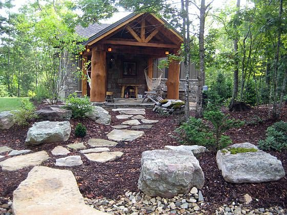 Cabin, Cottage, Craftsman House Plan 43204 with 2 Beds, 2 Baths Picture 1