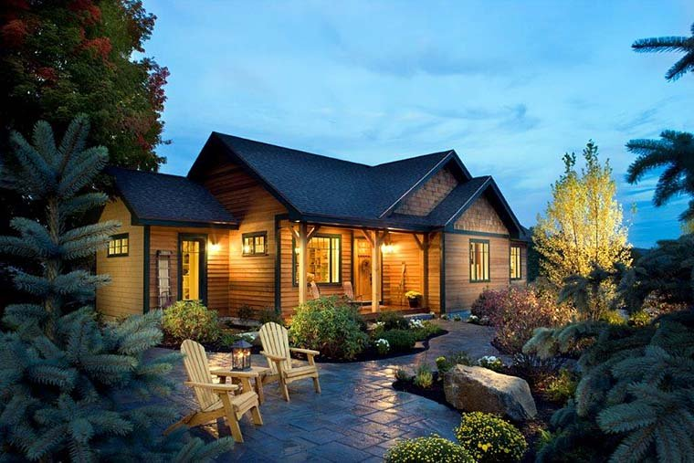 Craftsman, Ranch House Plan 43210 with 3 Beds, 2 Baths Picture 5