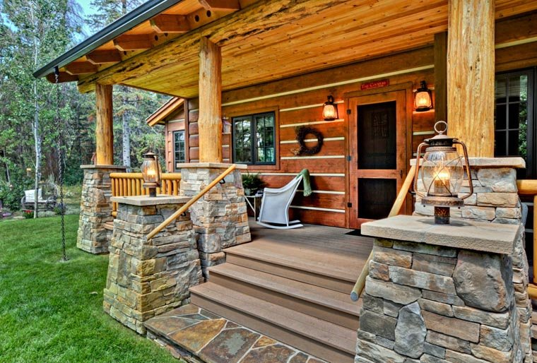 Cabin, Craftsman, Log House Plan 43212 with 2 Beds, 2 Baths Picture 11