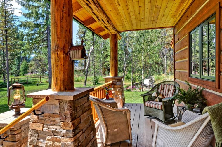Cabin, Craftsman, Log House Plan 43212 with 2 Beds, 2 Baths Picture 12