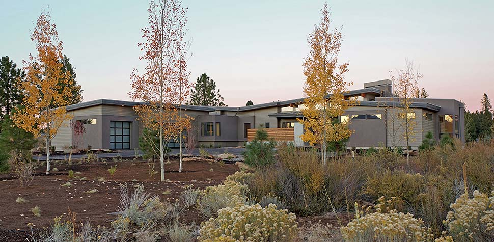 Contemporary, Modern House Plan 43316 with 3 Beds, 4 Baths, 3 Car Garage Picture 1