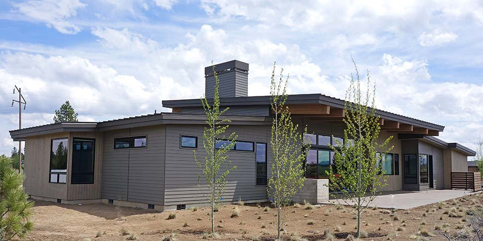 Contemporary, Modern House Plan 43319 with 3 Beds, 4 Baths, 3 Car Garage Picture 3