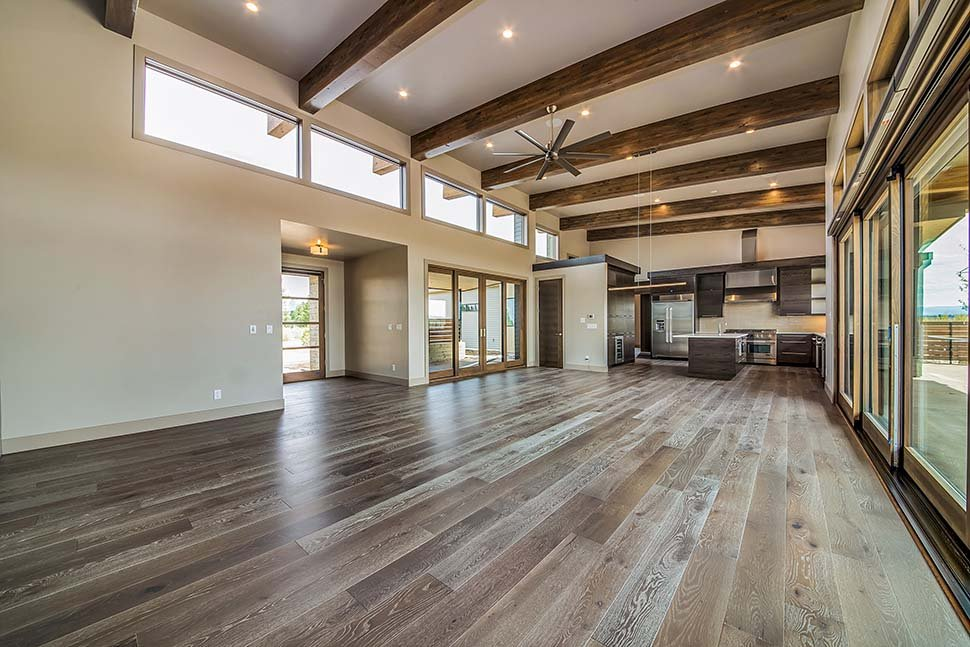 Contemporary, Modern House Plan 43319 with 3 Beds, 4 Baths, 3 Car Garage Picture 7