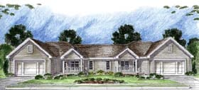 Plan Number 44062 - 2762 Square Feet