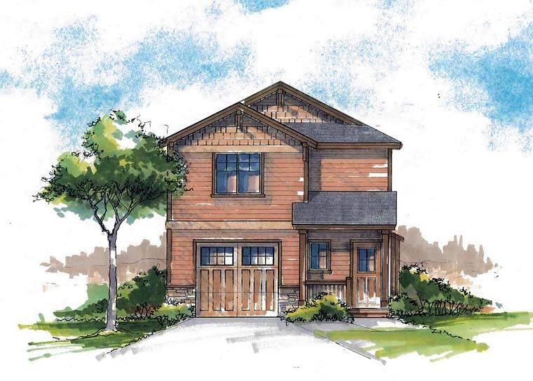 Country, Craftsman, Farmhouse, Southern, Traditional House Plan 44685 with 3 Beds, 3 Baths, 1 Car Garage Elevation