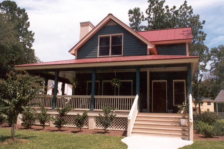 Country, Farmhouse House Plan 45628 with 3 Beds, 3 Baths Elevation