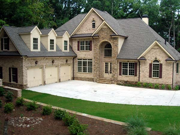 European House Plan 50251 with 4 Beds, 5 Baths, 3 Car Garage Picture 4