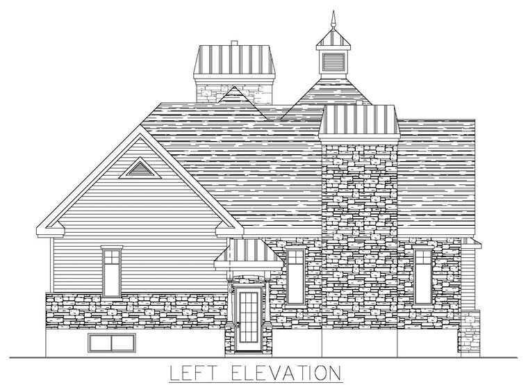 Colonial House Plan 50313 with 3 Beds, 3 Baths Picture 1