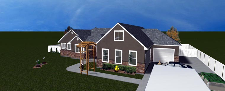 House Plan 50438 with 5 Beds, 3 Baths, 3 Car Garage Picture 15