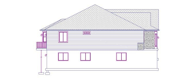 House Plan 50440 with 5 Beds, 3 Baths, 2 Car Garage Picture 1