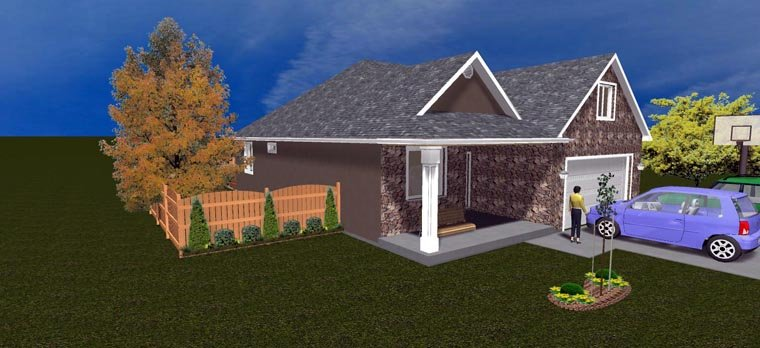 House Plan 50440 with 5 Beds, 3 Baths, 2 Car Garage Picture 12