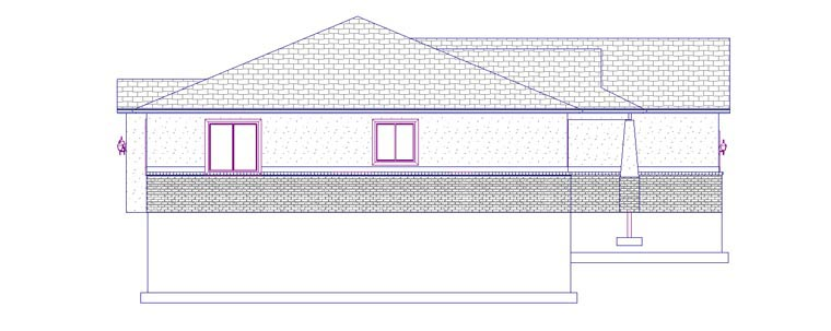 House Plan 50442 with 5 Beds, 3 Baths, 2 Car Garage Picture 1