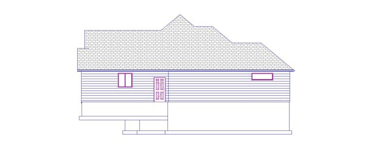 House Plan 50443 with 5 Beds, 3 Baths, 2 Car Garage Picture 2