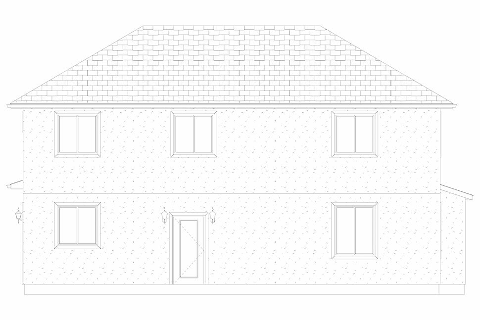 Traditional House Plan 50535 with 4 Beds, 2 Baths, 2 Car Garage Picture 27
