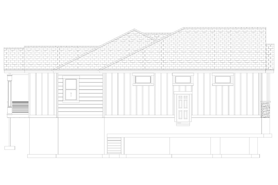 Craftsman, Ranch, Traditional House Plan 50536 with 6 Beds, 5 Baths, 3 Car Garage Picture 34
