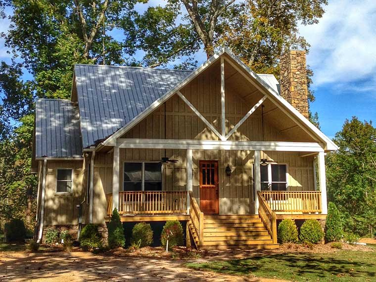 Cabin, Country, Farmhouse House Plan 51411 with 3 Beds, 4 Baths Picture 7