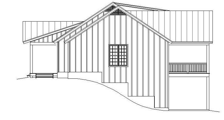 Ranch, Southern House Plan 51600 with 2 Beds, 2 Baths, 2 Car Garage Picture 1