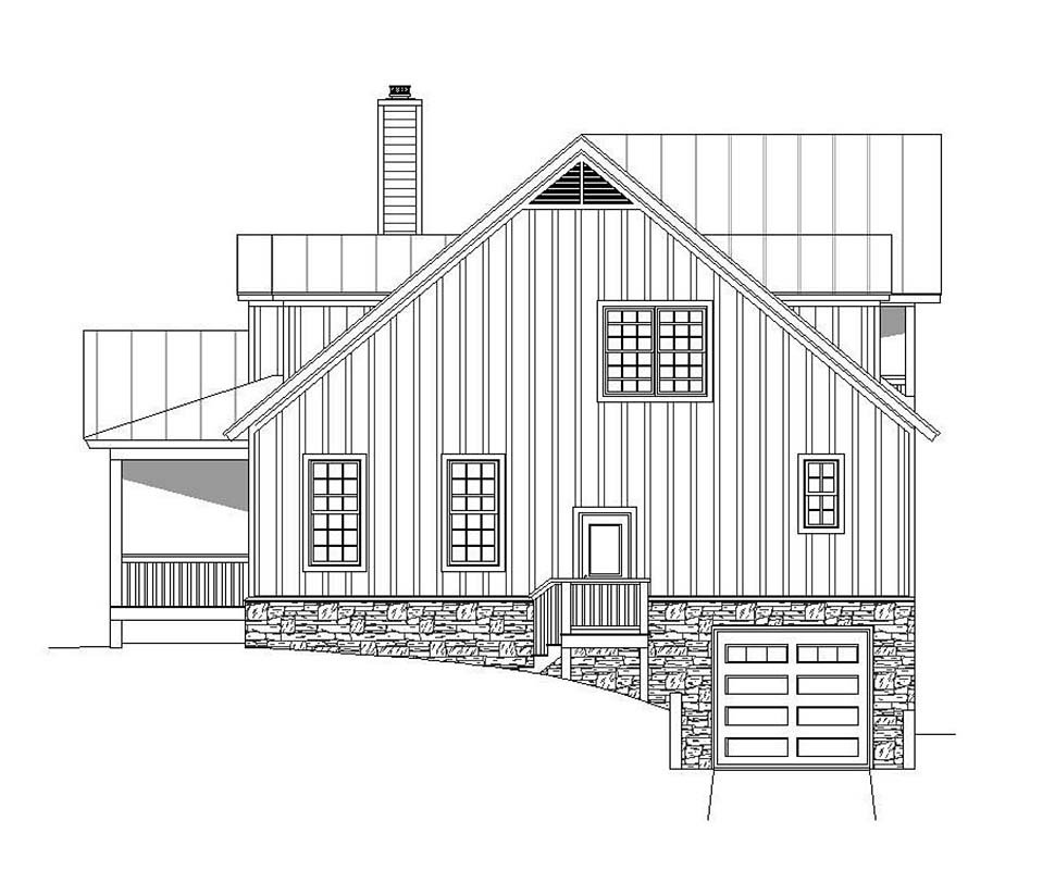 Country, Southern House Plan 51637 with 4 Beds, 5 Baths, 2 Car Garage Picture 1